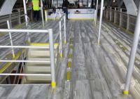 Aluminium Ferry ready for Flaking