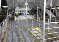 Aluminium Ferry ready for Flaking