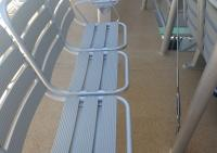 Aluminium Ferry Beach stonegrip Flaked floor