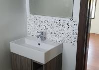After Black XL Classic marble splash back